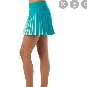 ASICS Athlete Pleat Tennis Skirt Turquoise medium